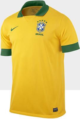 camisa da seleção brasileira 2013