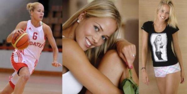 Antonija Misura, Pemain Basket Paling Cantik dan Seksi