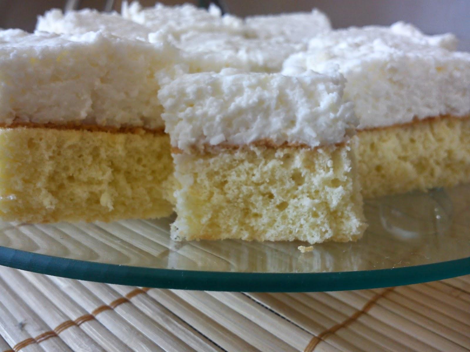 Rafaello - łatwe ciasto kokosowe (przepis I)