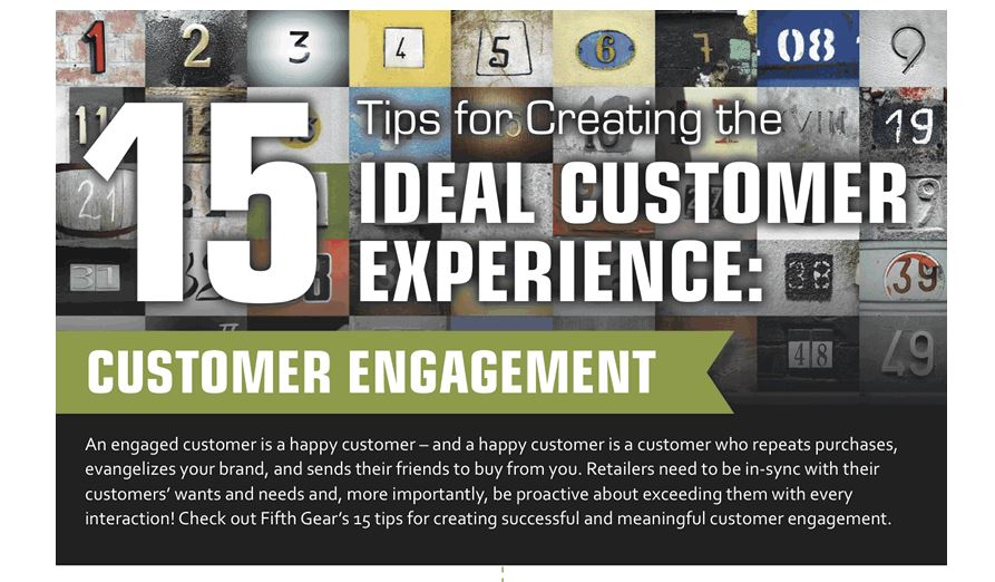 Fifth Gear Infographic on Customer Experience