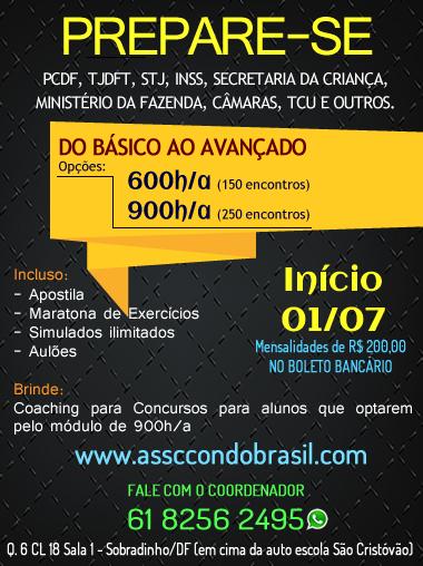 EXCLUSIVIDADE ASSCCON DO BRASIL!!!