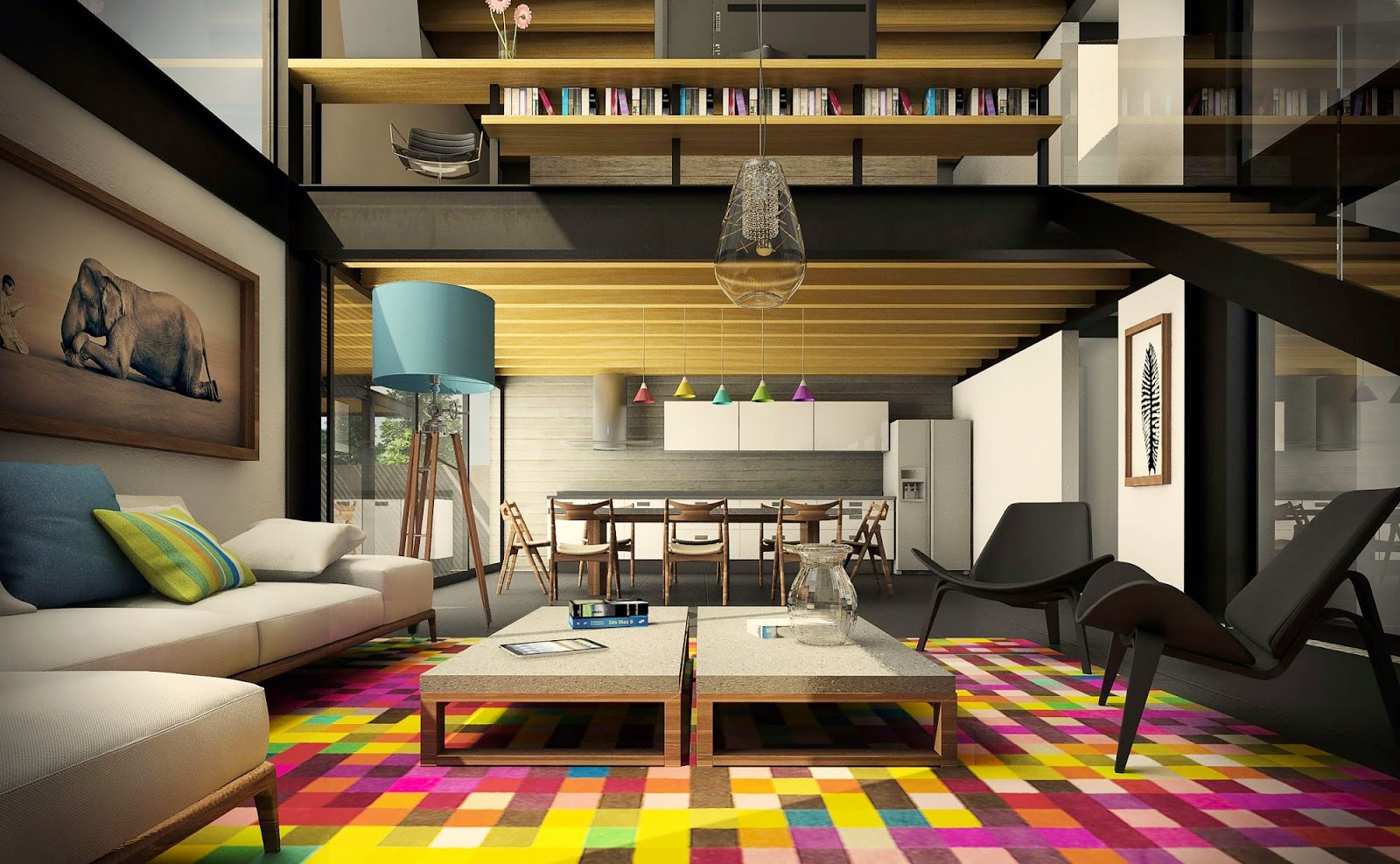 contoh ruang tamu minimalis
