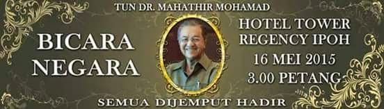 Bicara Negara Tun Dr Mahathir Mohamad