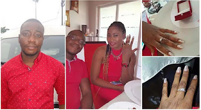 "LOL! Woman Denies Fiance After EFCC Arrest, Says Their Engagement Was Just A ""Prank"" (Photos)"