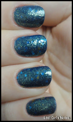 nerd lacquer the quantum bluniverse swatches and review