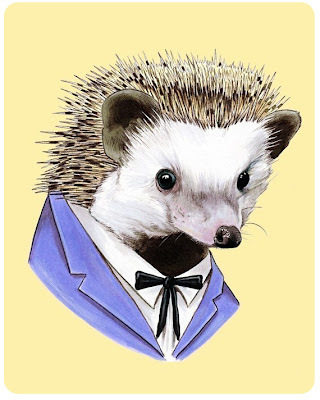 Berkley Illustration's hedge hog