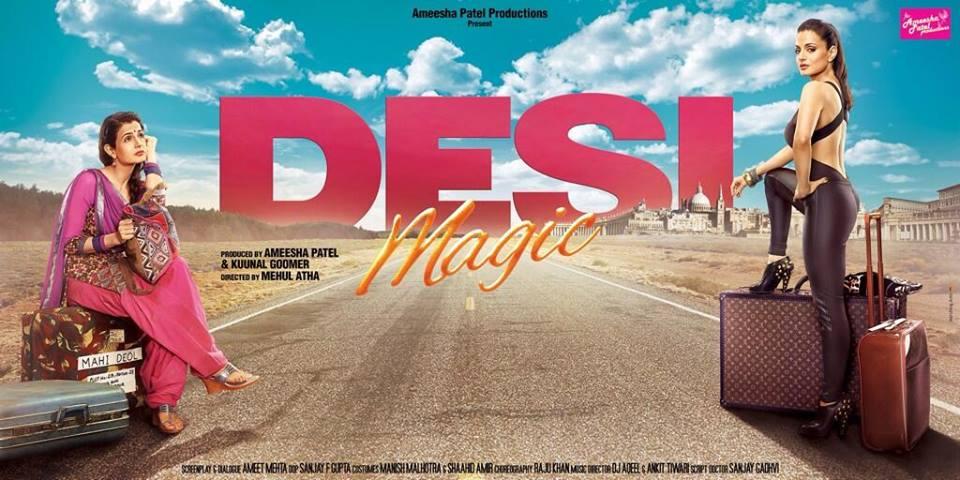 Hot Amisha Patel Movie Poster Wallpaper