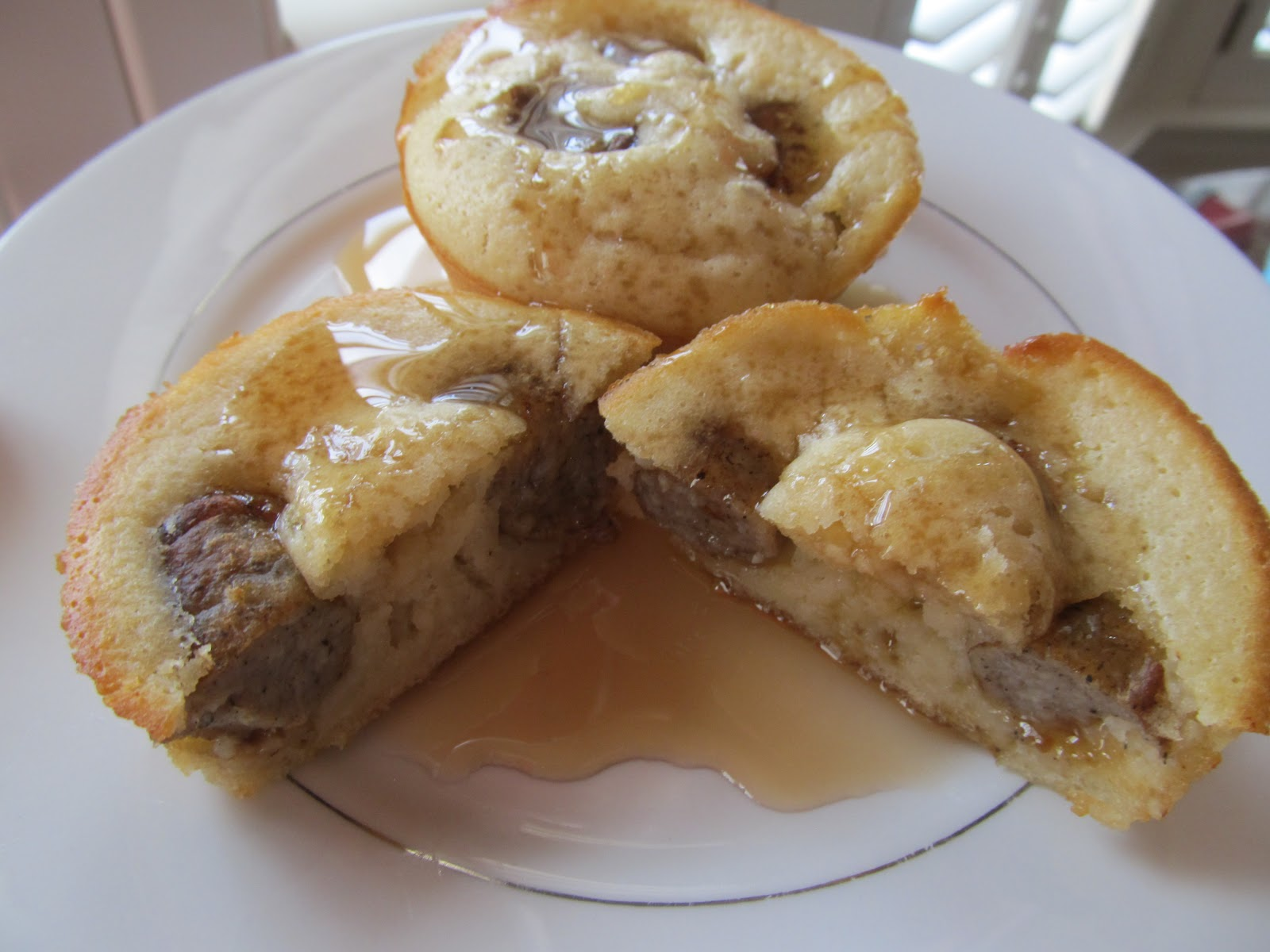 Pancake Sausage Muffins On A Stick Recipe — Dishmaps