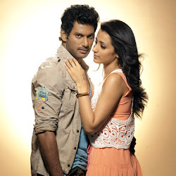 Vishal, Trisha Krishnan, Sunaina on Samar (2013) Tamil Movie Latest Stills