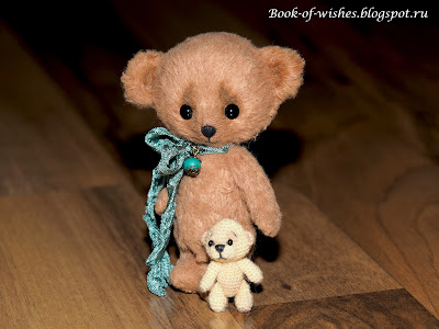 handmade tiny bear Dmitriy