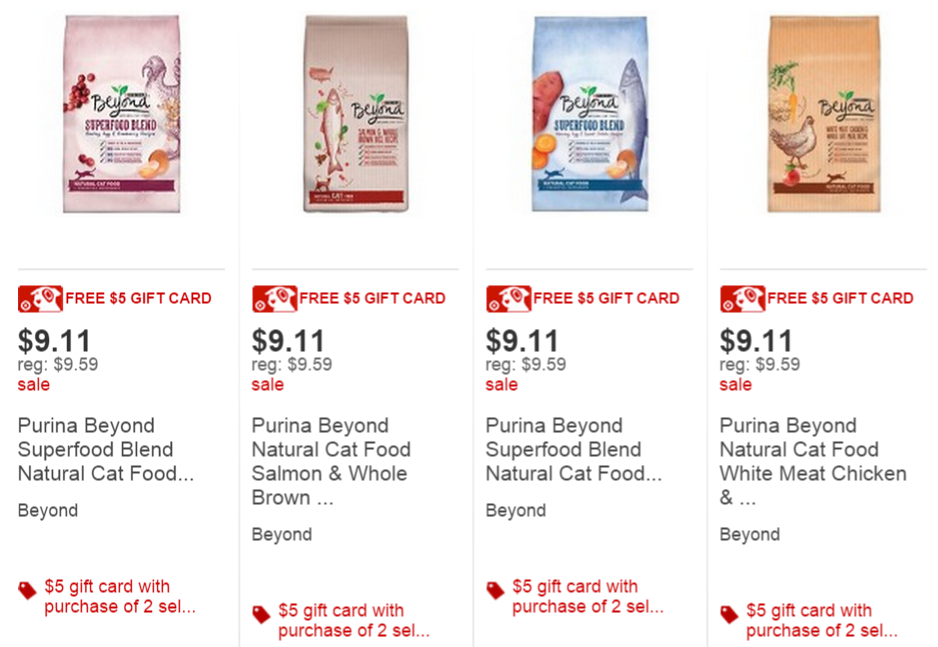 Extreme Couponing Mommy Cheap Purina Beyond Cat Food At Target