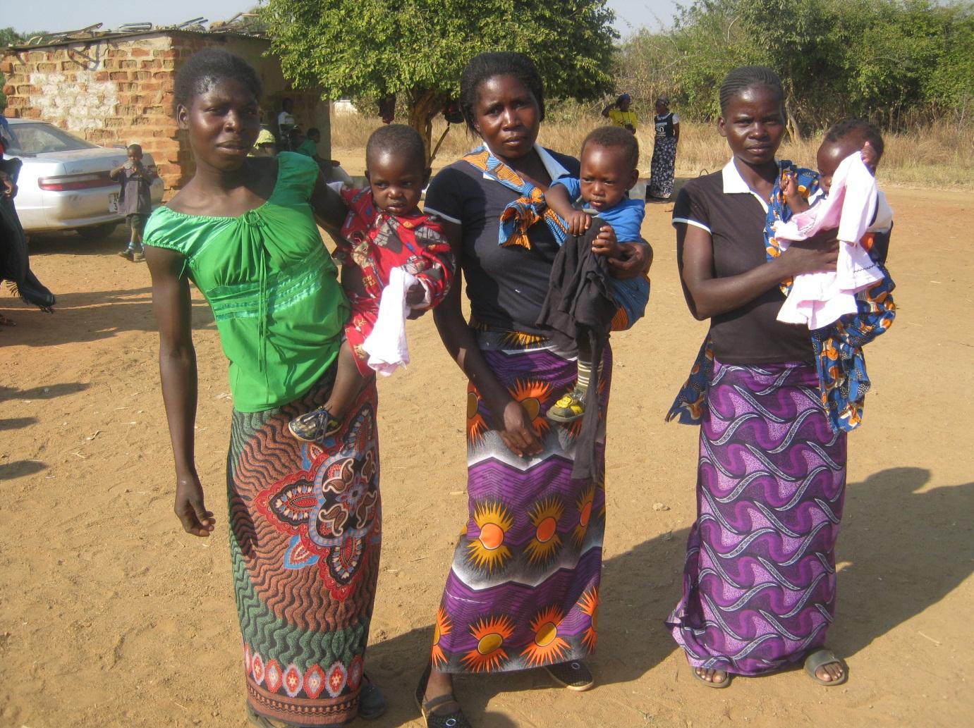 mwana hope zambia 2011 sixth distribution post 7 clothes
