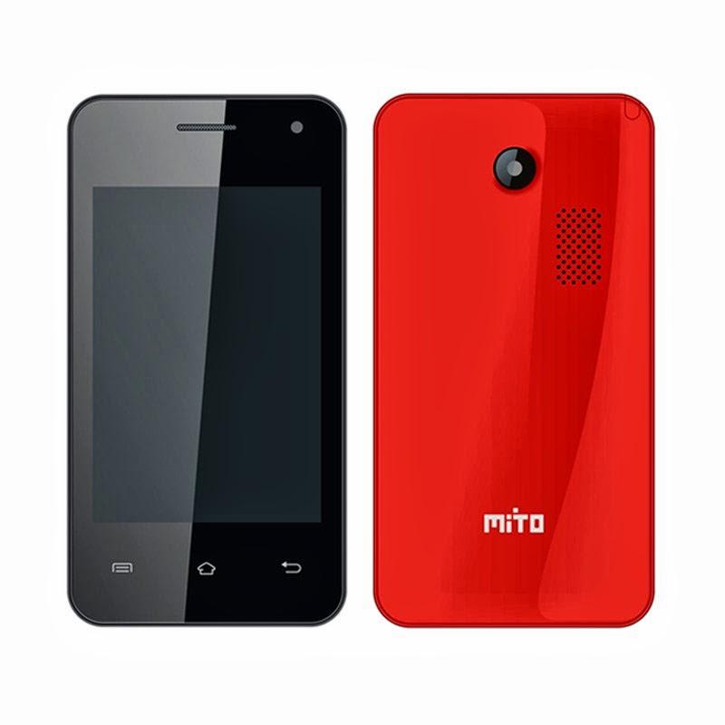 Mito a210 Harga Spesifikasi, Android Dual Core SIM Murah 600 ribuan