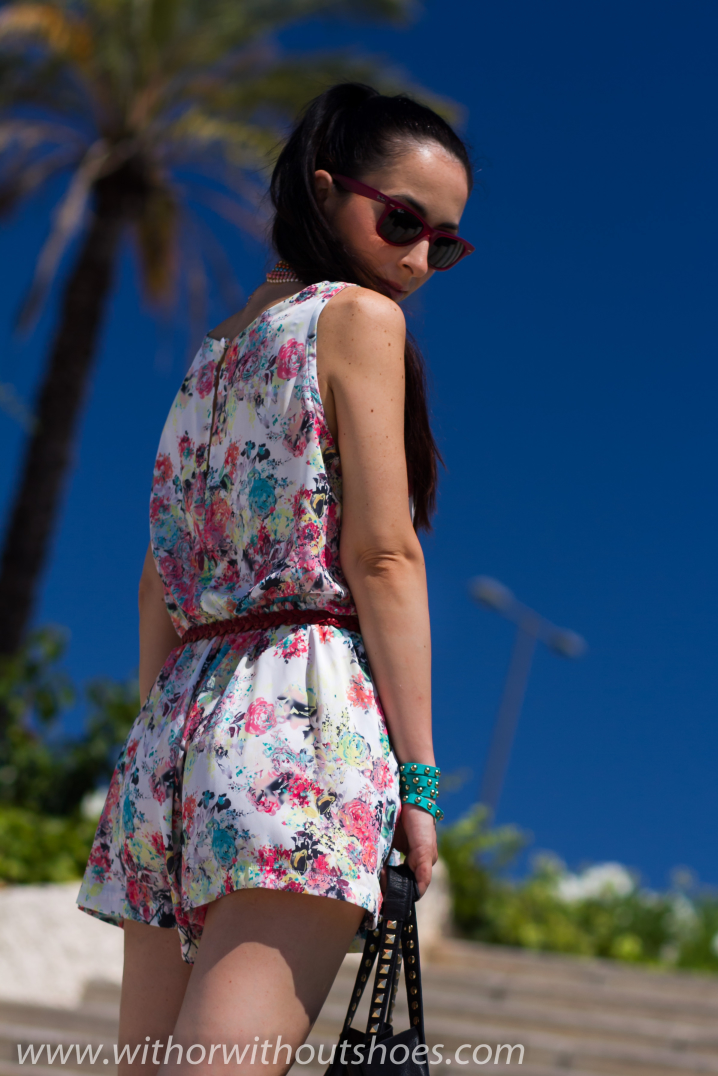 Floral Playsuit With Or Without Shoes Blog Influencer