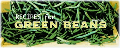Tired of the same old green beans? Find new inspiration in this collection of Green Bean Recipes from A Veggie Venture, ranging from the simple for every day and the special for occasions.