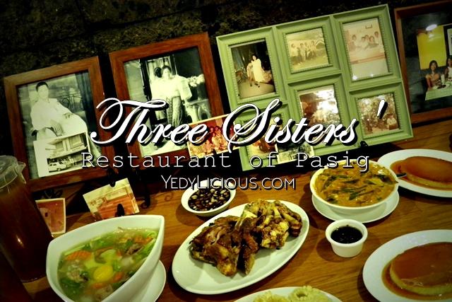 Three Sisters' Restaurant of Kapitolyo Pasig Blog Review