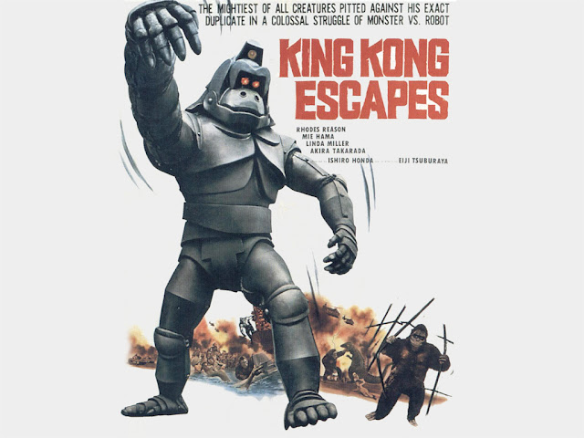 Booksteve Goes To The Movies: King Kong Escapes