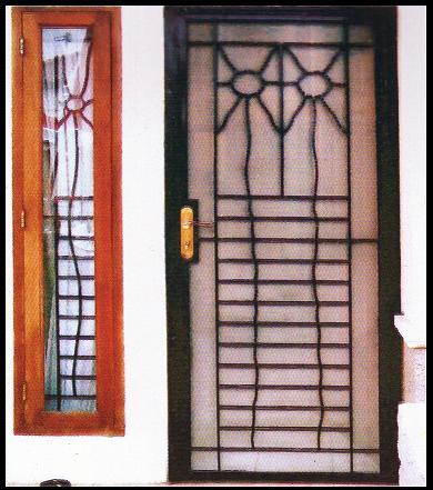 bentuk dan harga dari teralis jendela model minimalis dan tempa