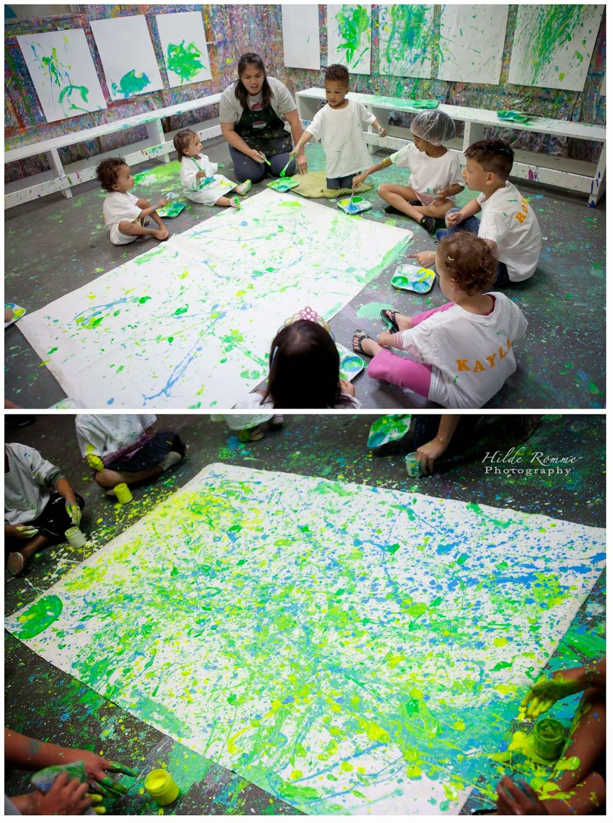 Cats Paint Splatter Party Review