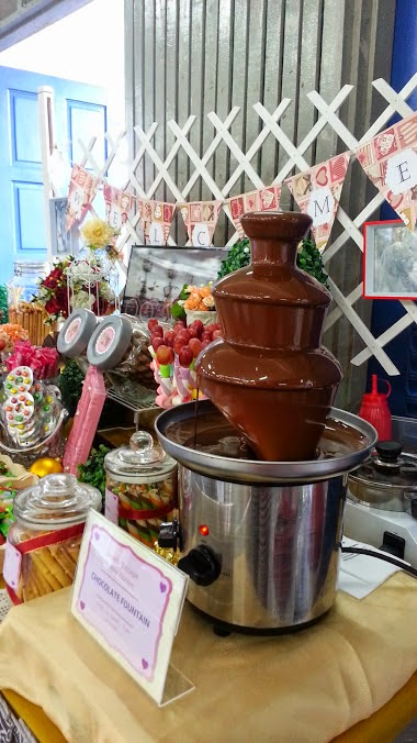 Chocolate Fountain & Candy Buffet Halal & Murah