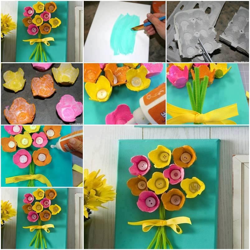 Manualidades de primavera para decorar el aula imagui for Decoracion primavera manualidades