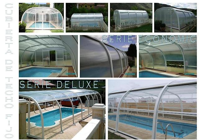 Cubiertas de piscina easycover - Techo piscina cubierta ...