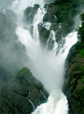 Beautiful Waterfall in Goa