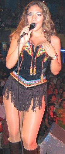 Nancy Castelo fue bailarina de Agua Bella