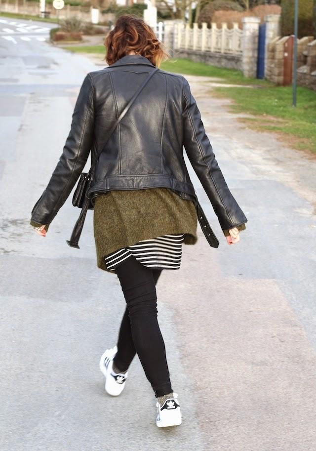 maje, vero moda, aurélie chadaine, zara, céline, ray ban, superstar adidas, juste juliette, blog mode lille, fashion blogger