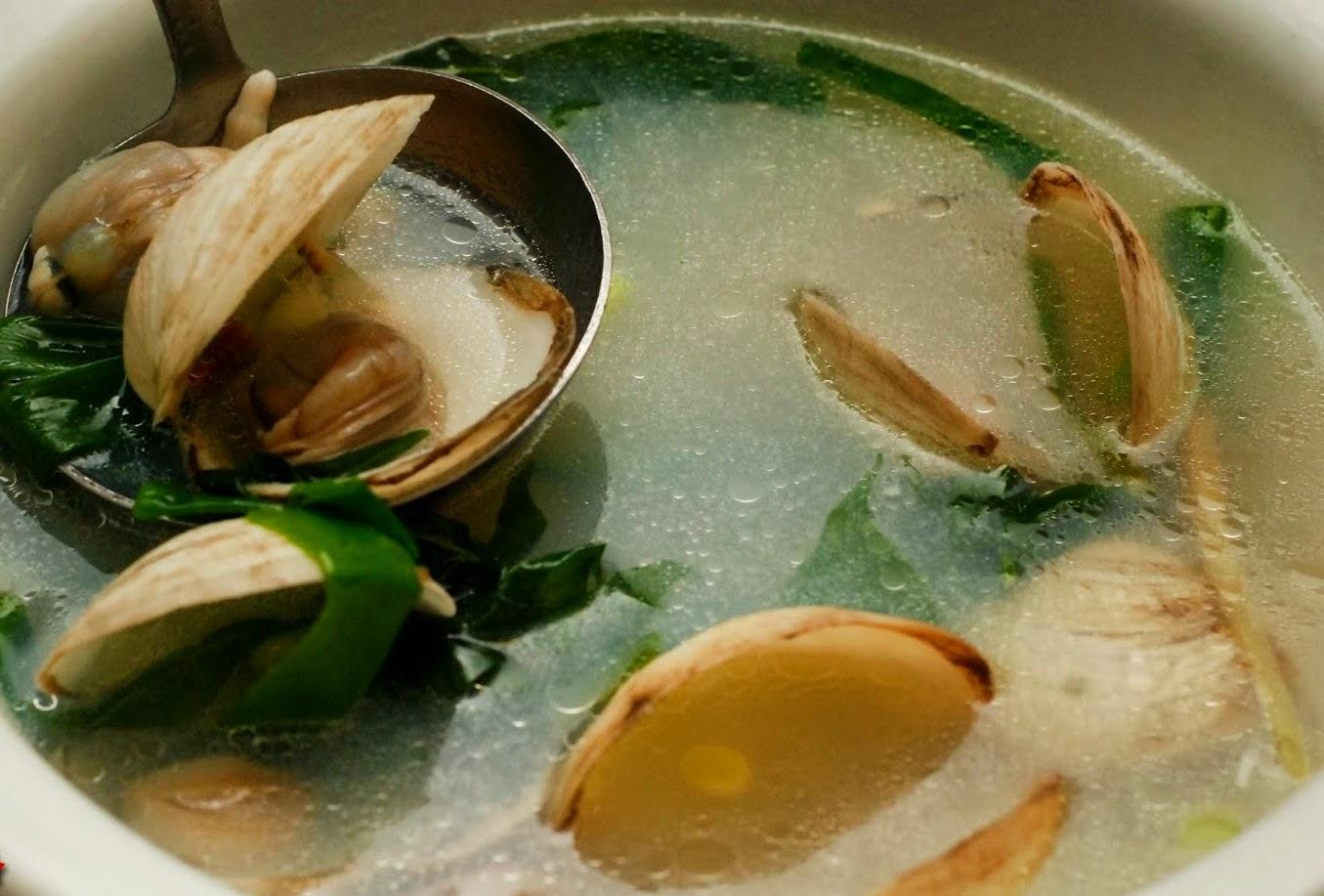 Sinabawang Halaan Recipe