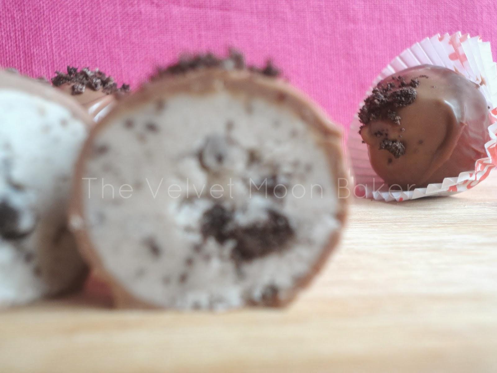 cookies and cream buttercream truffles