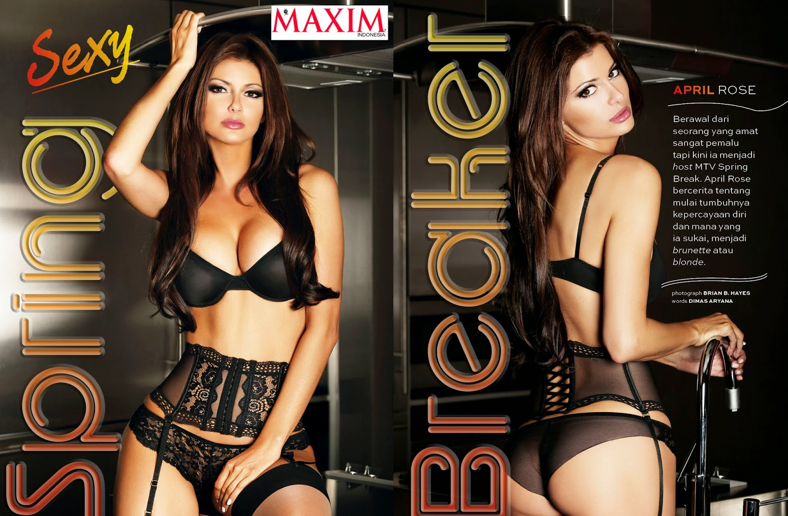 Maxim Magazine Starts May Off With April Rose
