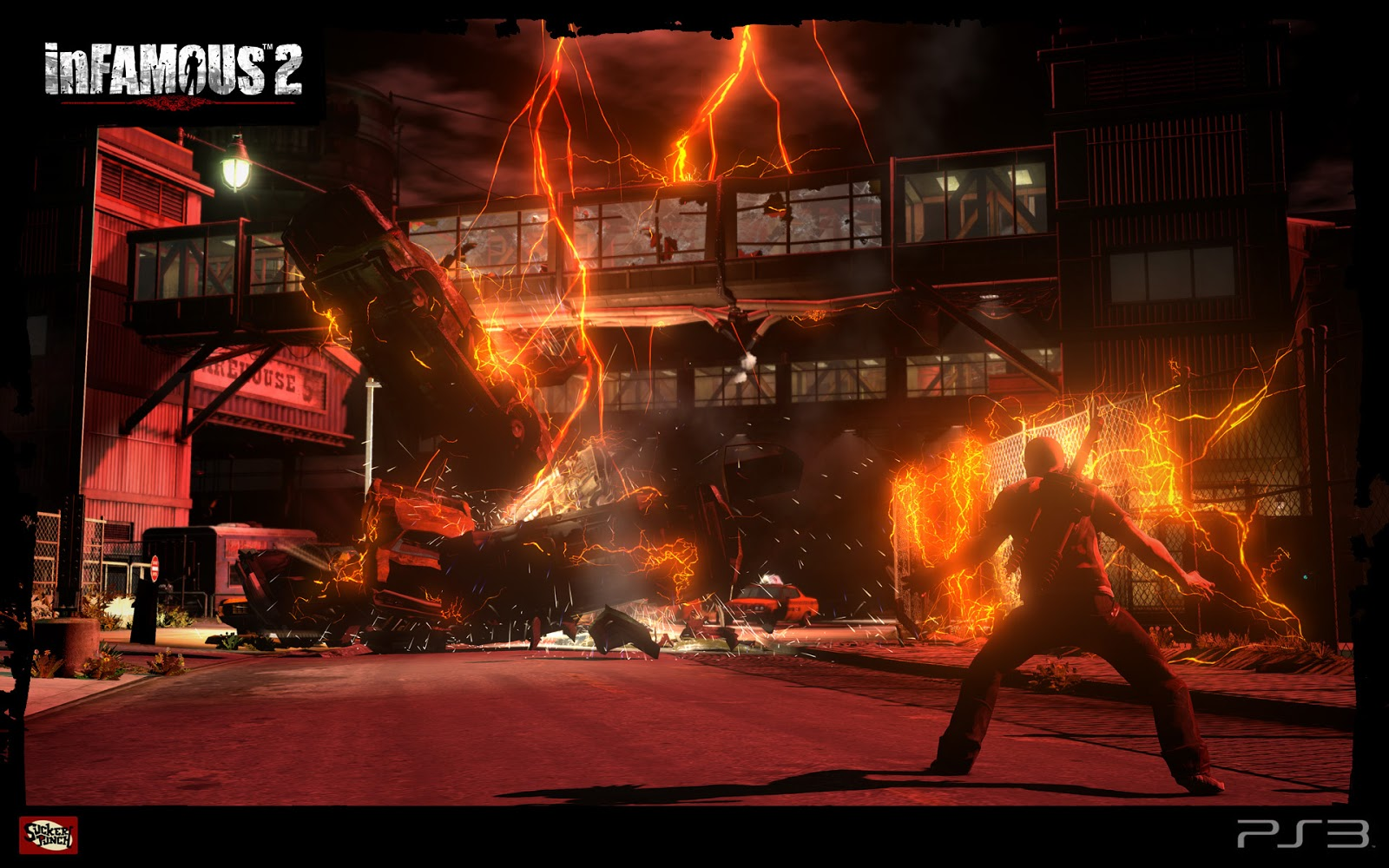 Infamous HD & Widescreen Wallpaper 0.668509135773447