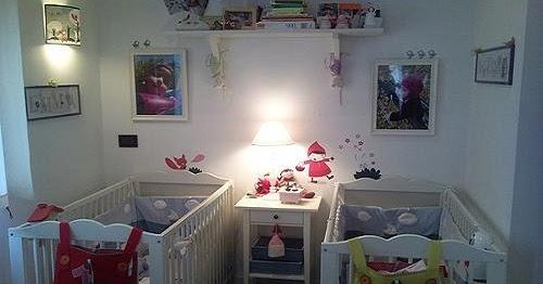D coration chambre b b jumeaux b b et d coration for Decoration chambre nouveau ne