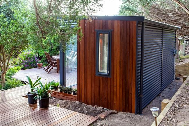 Casas minimalistas y modernas casillas exteriores for Casillas para jardin