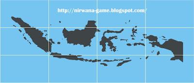 Vector peta pulau indonesia