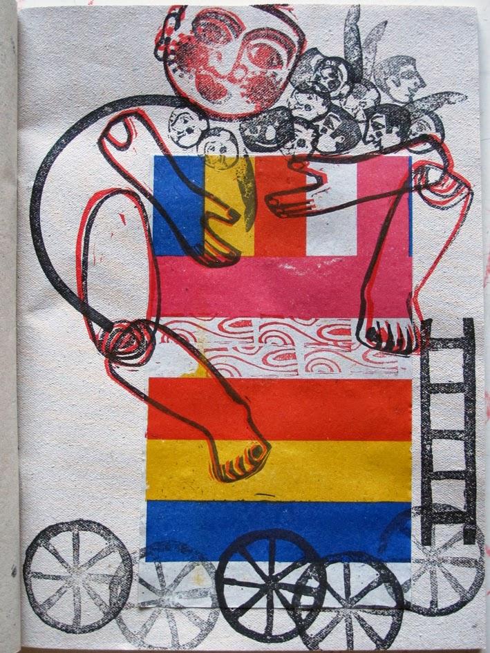 jeu, tampons d'artiste, , Brigitte Rio