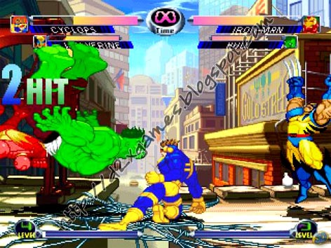 Free Download Games - Marvel vs Capcom 2 MUGEN