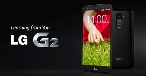 LG G2 mobile phone