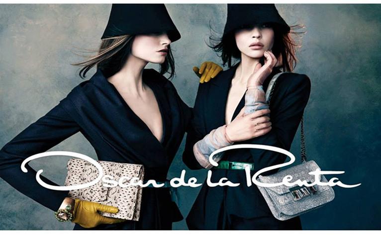 Oscar de la Renta Fall 2013/2014 Campaign Handbags