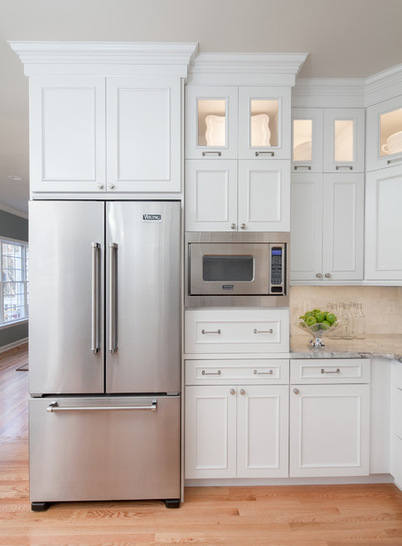 A Sleek Custom Option For Those Who Love The Look Of Beautifully Featured Appliances
