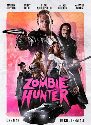 Poster Of Hollywood Film Zombie Hunter (2013) In 300MB Compressed Size PC Movie Free Download At 300Mb.cc