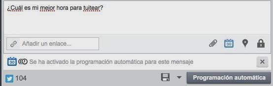 Hootsuite-programación automática