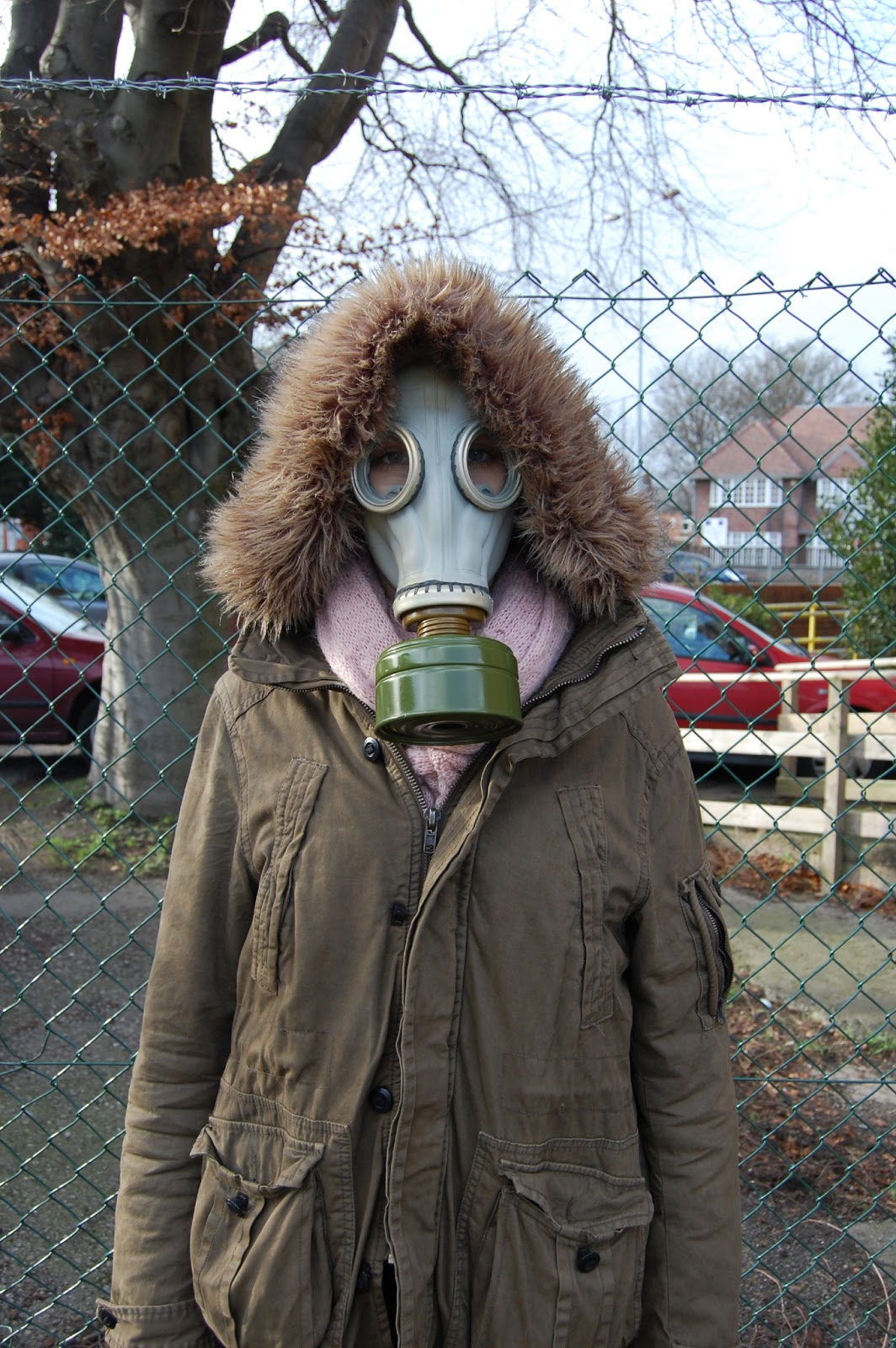 The creative narration of Kirsten Andrew: More gas mask images!