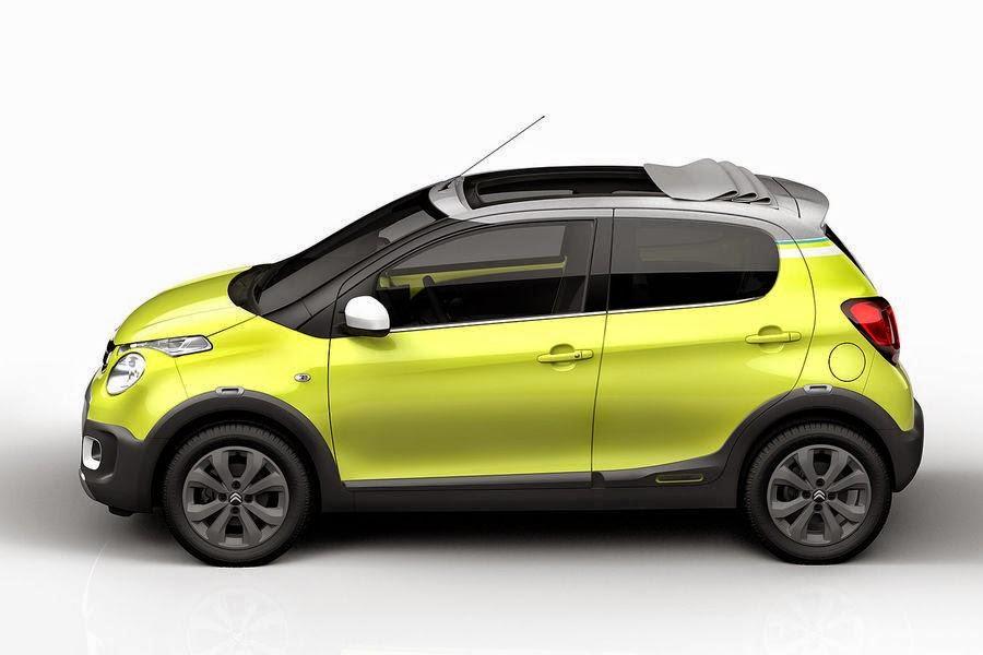 Citroën C1 Urban Ride Concept (2014) Side