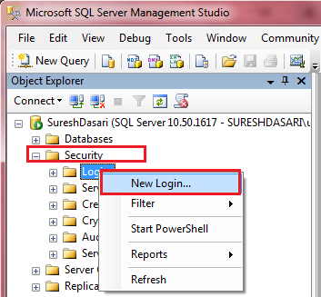 how to connect sql server database in c# windows application
