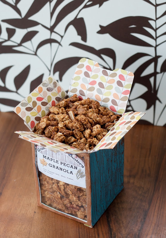 Crispy, Crunchy, Clustery Maple-Pecan Granola - Izy Hossack - Top With ...