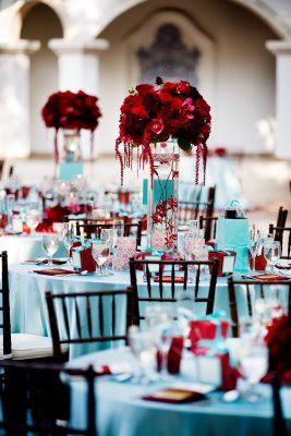Any Turquoise And Red Theme Weddings Pic Please Weddingbee