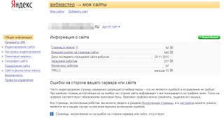 Вебмастер Яндекса