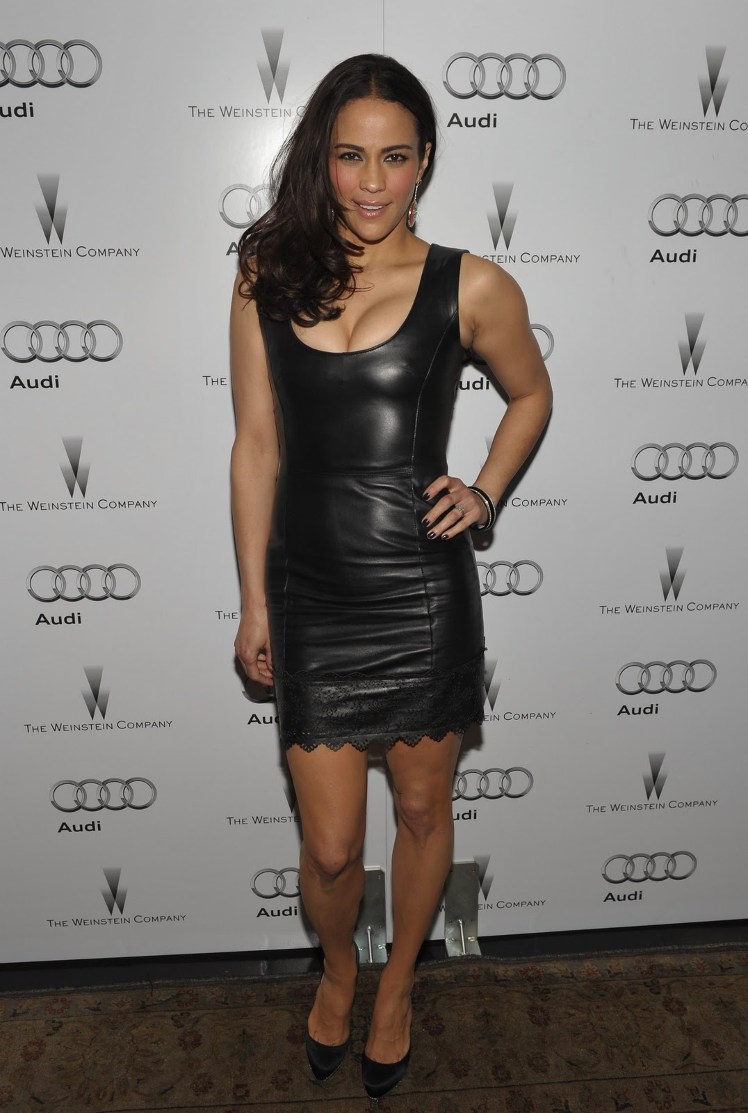 Paula Patton The Weinstein Company & Audi Celebrate Awards Season In